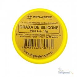 Graxa De Silicone Implastec Pote 10g
